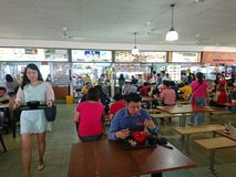 Singapore  Hawker center Royalty Free Stock Photos