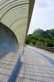 Singapore Henderson wave bridge. Shine at dusk Royalty Free Stock Images