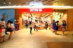 Singapore: Het winkelen bij H&M Royalty-vrije Stock Foto's