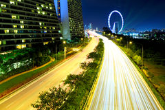 Singapore highway Stock Photos