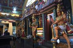 Singapore 10-01-2018 Hindu Temple Scenes and Deities. Singapore  Hindu Temple Scenes and Deities stock photography