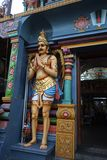 Singapore 10-01-2018 Hindu Temple Scenes and Deities. Singapore  Hindu Temple Scenes and Deities royalty free stock photography