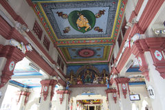 Singapore. In the Hindu temple. Stock Images