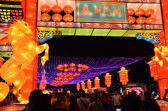 Singapore Hong Bao River 2014 Stock Foto