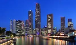 singapore horisont Arkivfoto