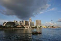 singapore horisont Royaltyfria Bilder