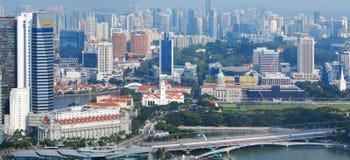 singapore horisont Royaltyfri Foto