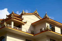 Singapore house. The Singapore house in nanning guangxi china stock images