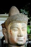 Singapore: Indo-Chine Buddha Head Stock Image