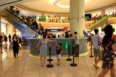 Singapore Information counter at Suntec city. Stock Photography