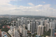 Singapore Ion Sky één kwart mening Royalty-vrije Stock Fotografie