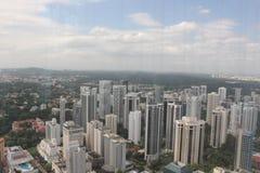 Singapore Ion Sky en fjärdedelsikt Royaltyfri Fotografi