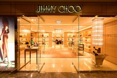 Singapore : Jimmy choo Stock Photo