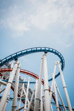 SINGAPORE - JULY 20 2015: Roller coaster in Universal Studios Si Royalty Free Stock Photos