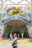 SINGAPORE - JULY 20,2015 : TRANSFORMERS The Ride: The Ultimate 3 Stock Photography