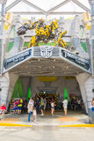 SINGAPORE - JULY 20,2015 : TRANSFORMERS The Ride: The Ultimate 3 Stock Image