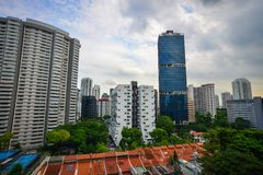 Cityscape of Singapore Stock Images