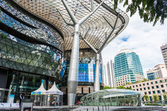 SINGAPORE - JUNE 18 : Day view of ION Orchard shopping mall onJU Stock Photos