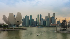 Singapore - June 13,2014 : Marina Bay Sands Hotel. One of the mo Stock Photography