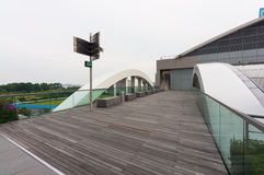 Singapore - June 13,2014 : Marina Bay Sands Hotel. Royalty Free Stock Photo