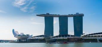 SINGAPORE-JUNE 19: The Marina Bay Sands Resort Hotel Stock Image