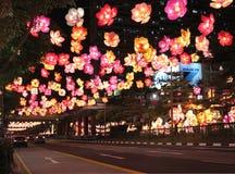 Singapore Kina Town Arkivbilder