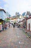 Singapore kineskvarter Royaltyfri Fotografi