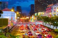 Singapore kineskvarter 2015 Fotografering för Bildbyråer