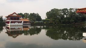 Singapore kinesträdgård Royaltyfria Bilder