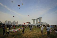 Singapore Kite festival Royalty Free Stock Photos