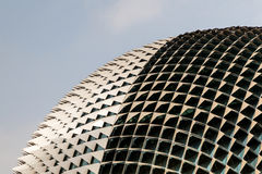 Singapore Landmark: Esplanade Theatres on the Bay Stock Photos