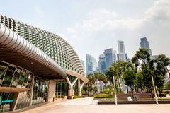 Singapore Landmark: Esplanade Theatres on the Bay Royalty Free Stock Images