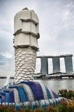 Singapore landmark Merlion Royalty Free Stock Photos