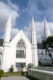 Singapore Landmark: St Andrews Cathedral Royalty Free Stock Images