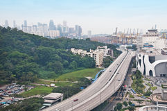 Singapore landscape Stock Photo