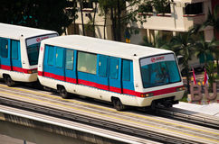 Singapore Light Rail Transit Stock Photo