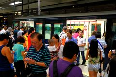 Singapore : Light Railway Transit (LRT) Royalty Free Stock Images