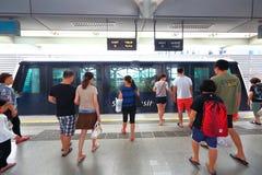 Singapore : Light Railway Transit (LRT) Stock Photos