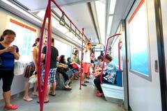 Singapore : Light Railway Transit (LRT) Royalty Free Stock Photos