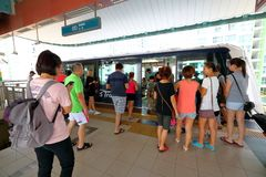 Singapore : Light Railway Transit LRT Stock Images