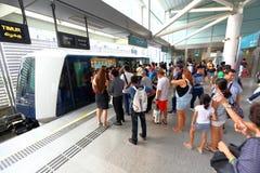 Singapore : Light Railway Transit LRT Stock Photos