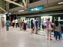 Singapore : Light Railway Transit LRT Royalty Free Stock Photo