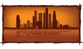 singapore linia horyzontu ilustracja wektor