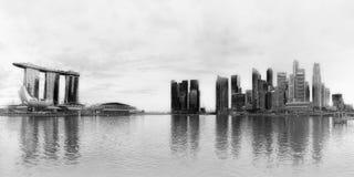 singapore linia horyzontu Zdjęcie Stock