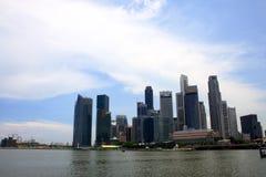 singapore linia horyzontu Fotografia Royalty Free