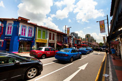 Singapore, Little India district. Stock Photography