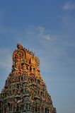 Singapore, Little India, Sri Perumal Temple Royalty Free Stock Photo