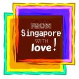 Singapore  love Royalty Free Stock Photos