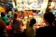 Singapore: Makansutra gluttons bay Stock Photography