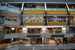 Singapore Mall Interior Stock Images